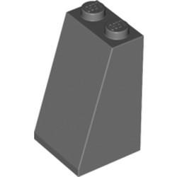 Dark Bluish Gray Slope 75 2 x 2 x 3 - Solid Studs