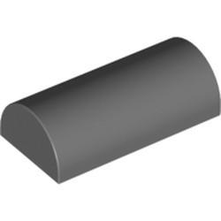 Dark Bluish Gray Slope, Curved 2 x 4 Double