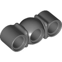 Dark Bluish Gray Technic, Liftarm, Modified Ball Joint Middle 1 x 3