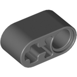 Dark Bluish Gray Technic, Liftarm Thick 1 x 2 - Axle Hole