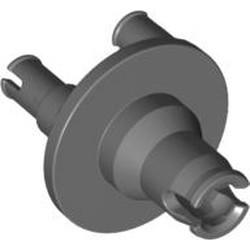 Dark Bluish Gray Technic, Steering Wheel Hub 3 Pin Round - new