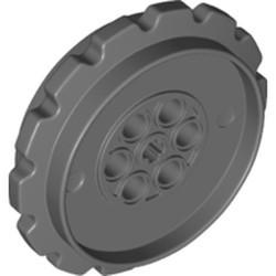 Dark Bluish Gray Technic Tread Sprocket Wheel Extra Large - new