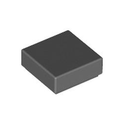 Dark Bluish Gray Tile 1 x 1 with Groove (3070) - new