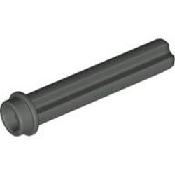 Dark Gray Technic, Axle 3 with Stud - used