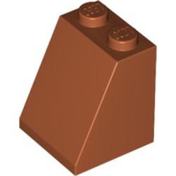 Dark Orange Slope 65 2 x 2 x 2 with Bottom Tube - used