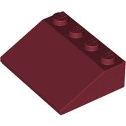 Dark Red Slope 33 3 x 4 - used