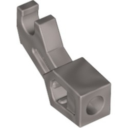Flat Silver Arm Mechanical, Exo-Force / Bionicle, Thick Support