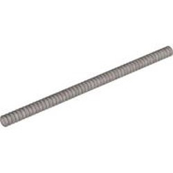 Flat Silver Hose, Ribbed 7mm D. 18L / 14.4cm