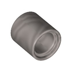 Flat Silver Technic, Liftarm Thick 1 x 1 - [Formerly Connector Pin Round (1L Spacer) - new]