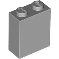 Light Bluish Gray Brick 1 x 2 x 2 with Inside Stud Holder - new