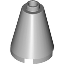 Light Bluish Gray Cone 2 x 2 x 2 - Open Stud - used