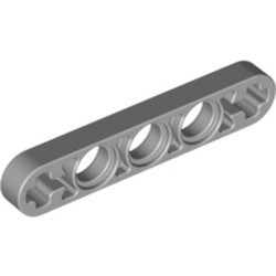 Light Bluish Gray Technic, Liftarm Thin 1 x 5 - Axle Holes