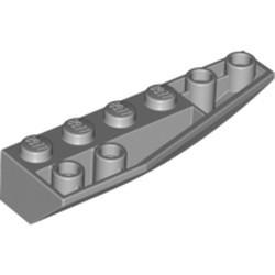 Light Bluish Gray Wedge 6 x 2 Inverted Right