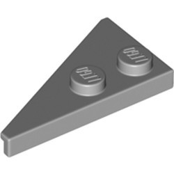 Light Bluish Gray Wedge, Plate 4 x 2 Right, Pointed