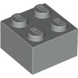 Light Gray Brick 2 x 2