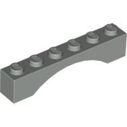 Light Gray Brick, Arch 1 x 6 - used