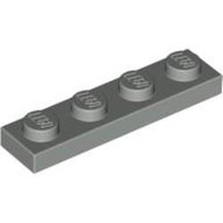 Light Gray Plate 1 x 4 - used