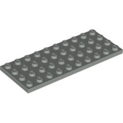 Light Gray Plate 4 x 10