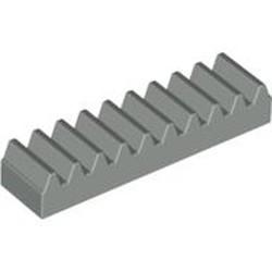 Light Gray Technic, Gear Rack 1 x 4 - used