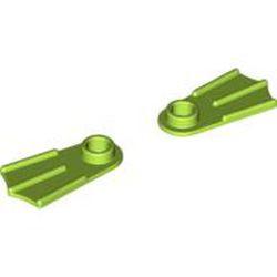 Lime Minifigure Footgear Flipper