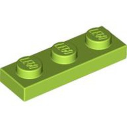 Lime Plate 1 x 3
