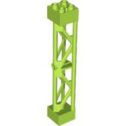Lime Support 2 x 2 x 10 Girder Triangular Vertical - Type 3 - 3 Posts, 2 Sections - used