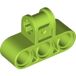 Lime Technic, Axle and Pin Connector Perpendicular Triple - new
