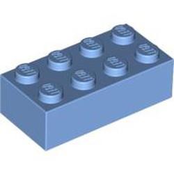 Medium Blue Brick 2 x 4