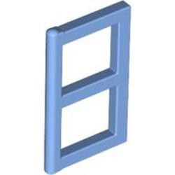 Medium Blue Pane for Window 1 x 2 x 3 - used