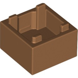 Medium Nougat Container, Box 2 x 2 x 1 - Top Opening - new