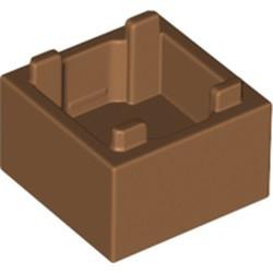 Medium Nougat Container, Box 2 x 2 x 1 - Top Opening