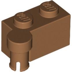 Medium Nougat Hinge Brick 1 x 4 Swivel Top