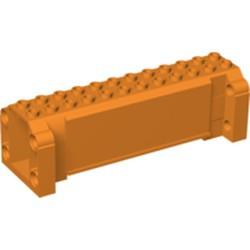 Orange Crane Section 4 x 12 x 3 with 8 Pin Holes