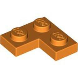 Orange Plate 2 x 2 Corner