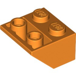 Orange Slope, Inverted 45 2 x 2 - used