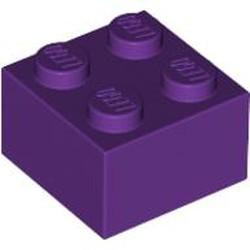 Purple Brick 2 x 2