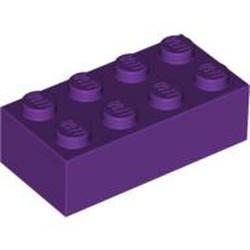 Purple Brick 2 x 4