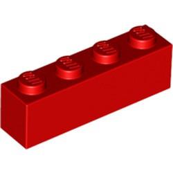 Red Brick 1 x 4 - used