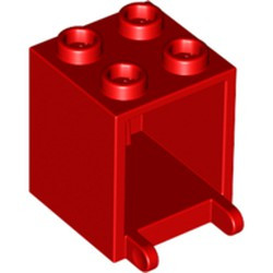 Red Container, Box 2 x 2 x 2 - used
