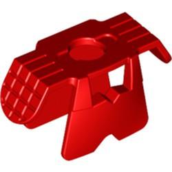 Red Minifigure Armor Ninja Style