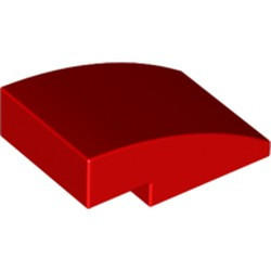 Red Slope, Curved 3 x 2 - new