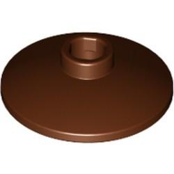 Reddish Brown Dish 2 x 2 Inverted (Radar) - new