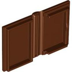 Reddish Brown Minifigure, Utensil Book 2 x 3