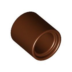 Reddish Brown Technic, Liftarm Thick 1 x 1 - [Formerly Connector Pin Round (1L Spacer) - new]