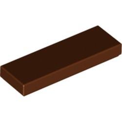Reddish Brown Tile 1 x 3 - new
