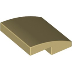 Tan Slope, Curved 2 x 2
