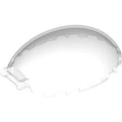 Trans-Clear Windscreen 8 x 6 x 2 1/3 Bubble Canopy with Bar Handle