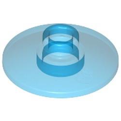 Trans-Dark Blue Dish 2 x 2 Inverted (Radar) - used