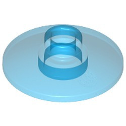 Trans-Dark Blue Dish 2 x 2 Inverted (Radar)