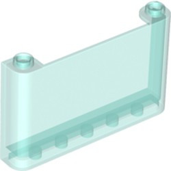 Trans-Light Blue Windscreen 1 x 6 x 3